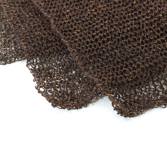 Mesh | black-copper by Woodnotes | Drapery fabrics