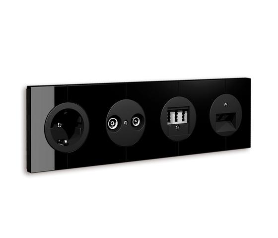 XT Plug & Dim Socket ANT, TAE, UAE by Tobias Grau | Schuko sockets