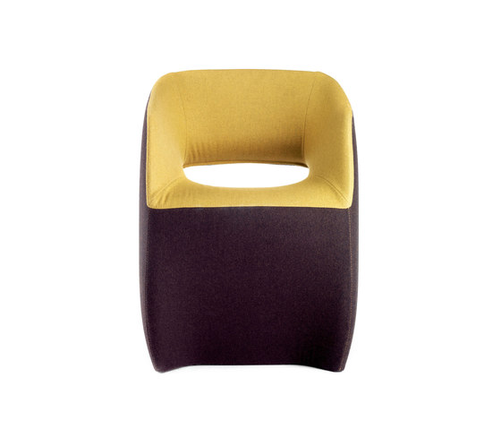 OM | textile armchair by Mobles 114 | Visitors chairs / Side chairs