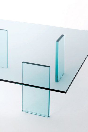Glass Table de Glas Italia | Mesas de centro