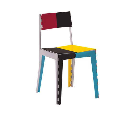 Stitch Chair | STC/1PC von Cappellini | Restaurantstühle