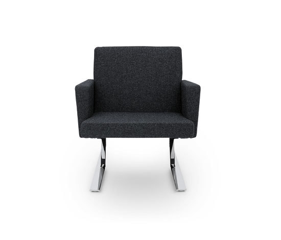 Satyr Armchair with armrest by ClassiCon | Lounge chairs