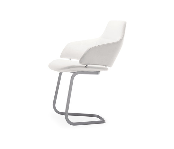 Aston Conference by Arper | Visitors chairs / Side chairs