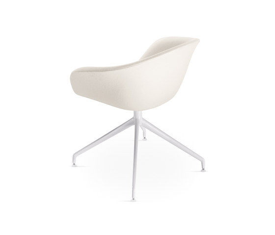 Duna | D013 by Arper | Visitors chairs / Side chairs