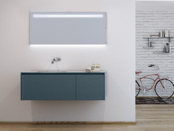 Strato Wall Lighting Mirror de Inbani | Miroirs de bain