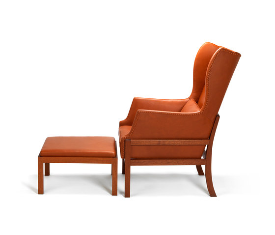 Wing Back Chair 50 von Carl Hansen & Søn | Sessel