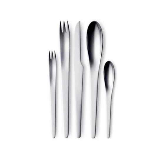Arne jacobsen cutlery by georg jensen arne jacobsen salad - Arne jacobsen flatware ...