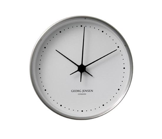 Koppel Clock Ø 22 cm by Georg Jensen | Clocks