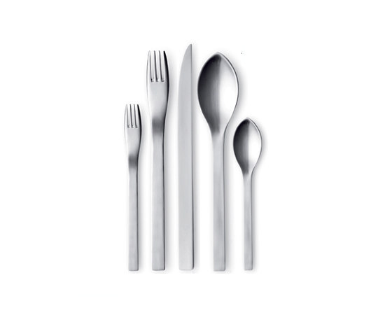 Jean Nouvel Cutlery di Georg Jensen | Posateria