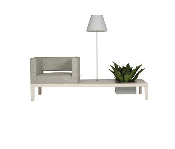 Rilasso Banco Armstool large by Züco | Waiting area benches