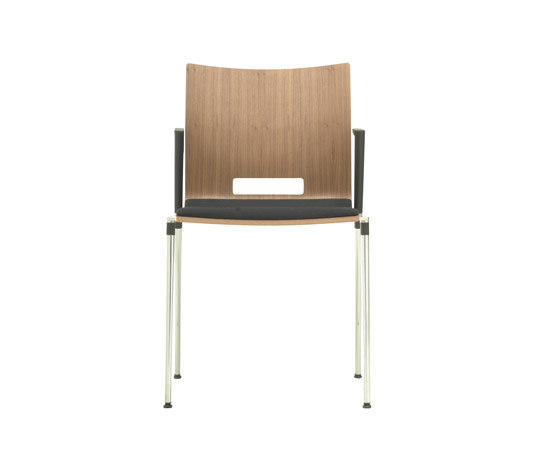 Sala | 4-legged general purpose chair by Züco | Visitors chairs / Side chairs