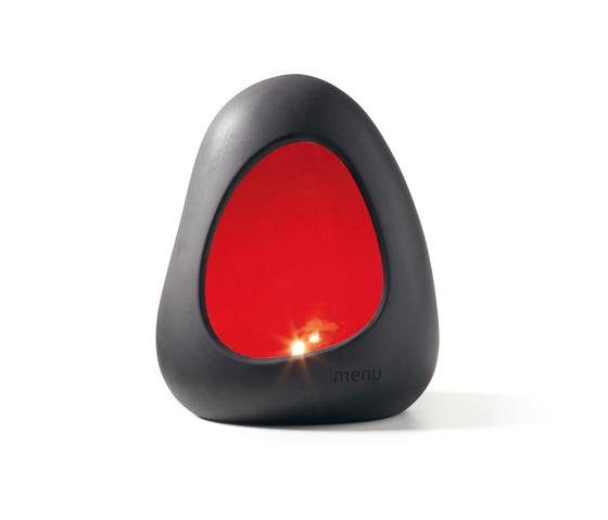 Magmastein von MENU | Kerzenständer / Kerzenhalter