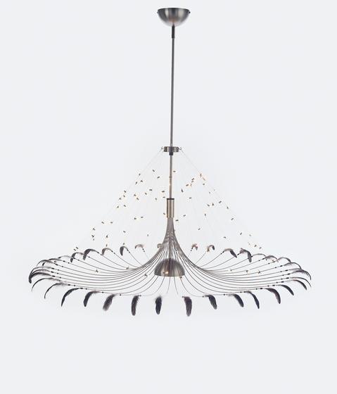 Bird Suspended Lamp di Quasar | Suspended lights