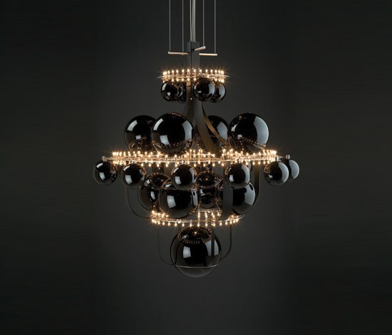 royal bb suspended lamp general lighting from quasar. Black Bedroom Furniture Sets. Home Design Ideas