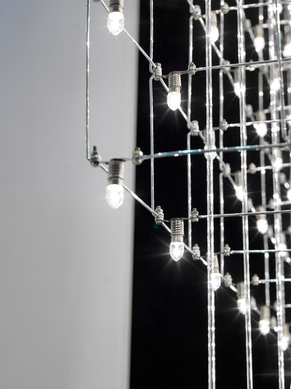 Universe Square suspended lamp by Quasar | General lighting