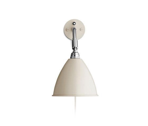 Bestlite BL7 Wall lamp   Off-White/Chrome by GUBI   Wall lights