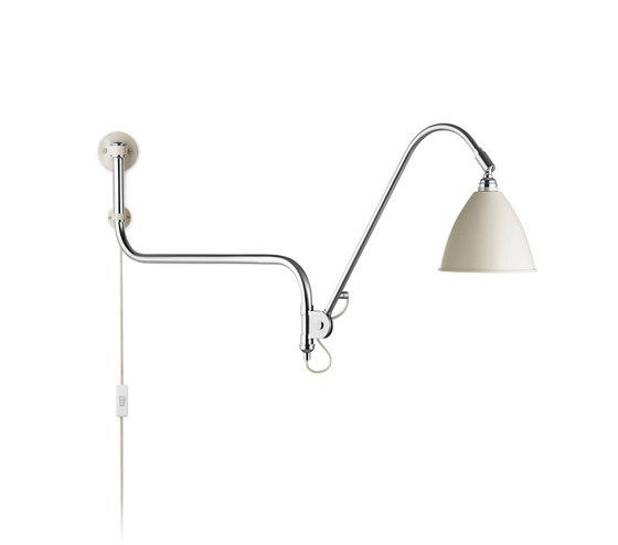 Bestlite BL10 Wall lamp | Off-White/Chrome by GUBI | Wall lights