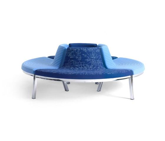 Flow Lounge de Magnus Olesen | Sièges en îlot