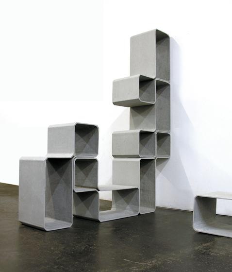 Tetris by Eternit (Schweiz) AG | Shelving