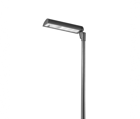 Alba 740 single Luminaire with bracket by Hess | Path lights