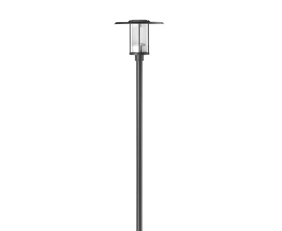 Madrid M 600 Pole mounted luminaire single by Hess | Path lights