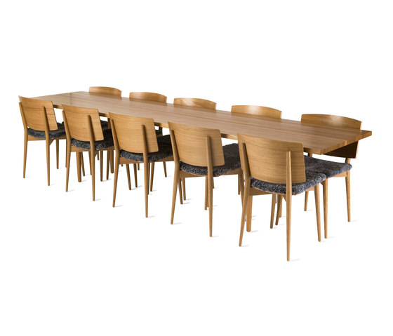 Oak HB-501 de Skandiform | Tables de repas