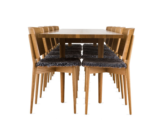 Oak HB-501 by Skandiform | Dining tables