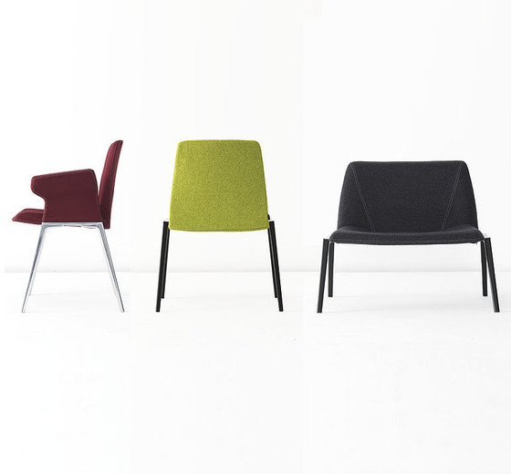 Plate Chair by Kristalia | Visitors chairs / Side chairs