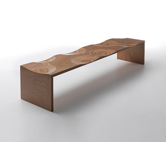 Ripples bench outdoor by HORM.IT | Garden benches