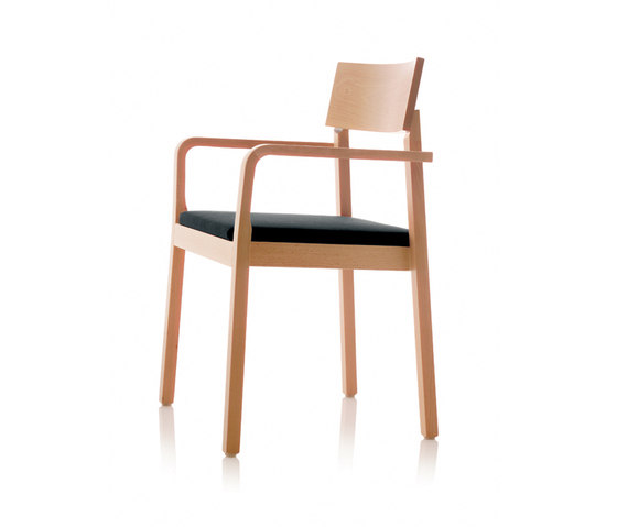 S11 chair with arms by B+W | Multipurpose chairs