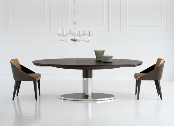 Diva by potocco 775 piw 775 pst bs 775 st 775 ast - Table ovale extensible ...