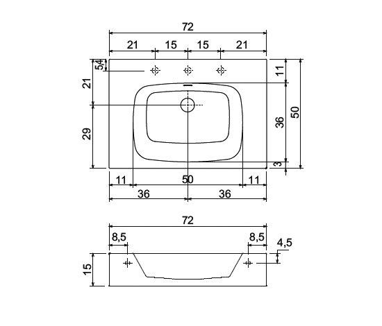 Body 2 + Fold by antoniolupi | Towel rails