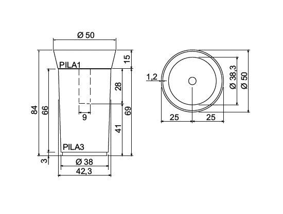 Pila 1 + Pila 3 by antoniolupi | Vanity units