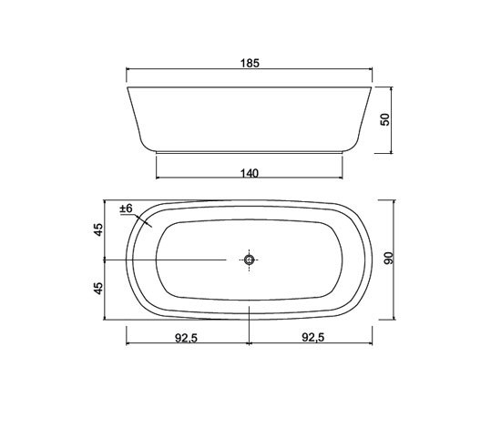 vasca da bagno ovale dimensioni termosifoni in ghisa