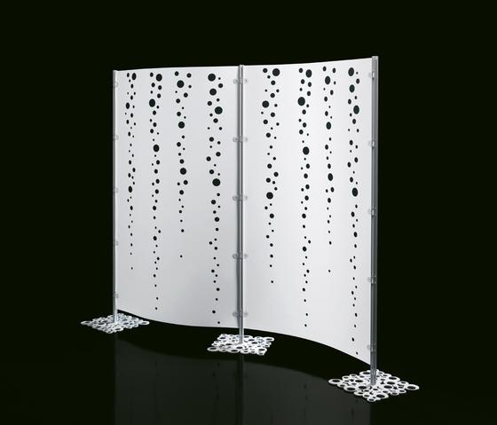 Arianna screen wall by Caimi Brevetti | Space dividers