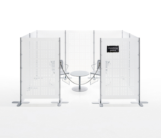 Arianna screen wall by Caimi Brevetti | Space dividers