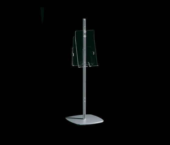 Arianna Totem by Caimi Brevetti | Brochure / Magazine display stands