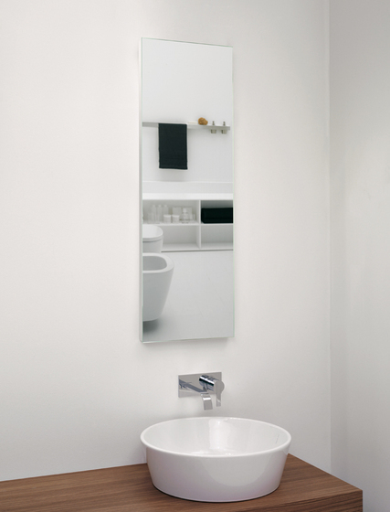 Slow 1/2 by antoniolupi | Wall mirrors