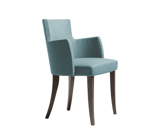 Turnè Armchair P by Accademia | Visitors chairs / Side chairs