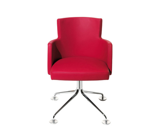 Turnè Armchair PGMET.ATP by Accademia | Visitors chairs / Side chairs