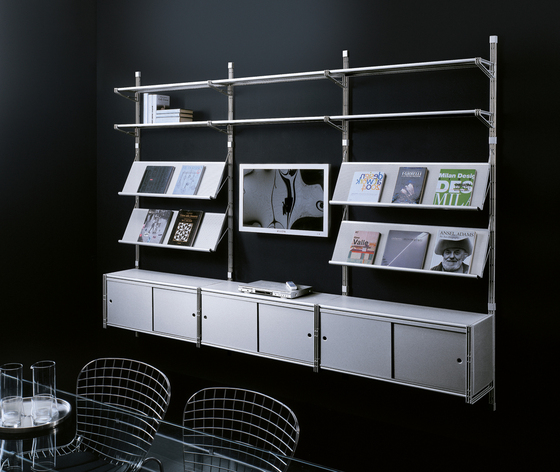 Socrate Parete by Caimi Brevetti | Office shelving systems