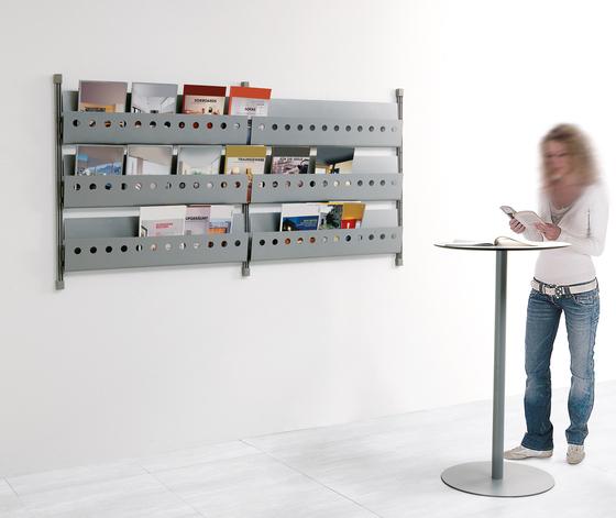 Socrate Parete by Caimi Brevetti | Brochure / Magazine display stands