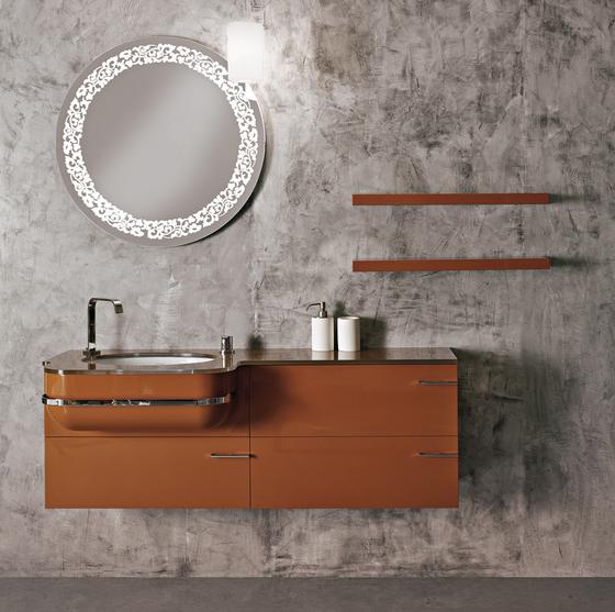 Flò 4 de antoniolupi | Miroirs muraux