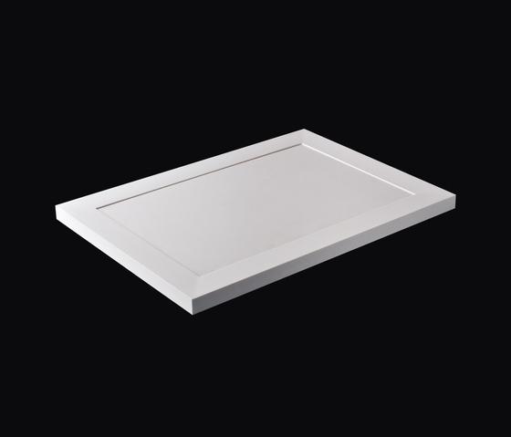 Slab 1/2/3/4 by antoniolupi | Shower trays
