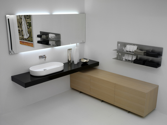 Materia Collection by antoniolupi | Wall cabinets