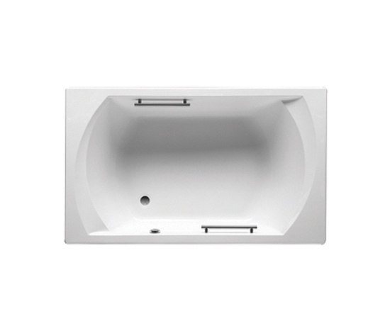 Thalassa acrylic bath by ROCA | Built-in bathtubs
