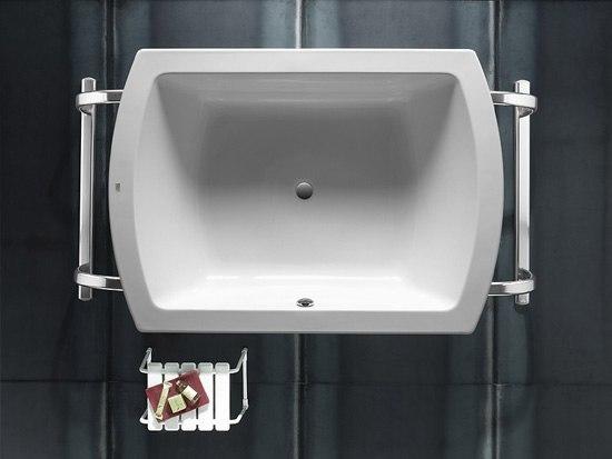 Emotion acrylic bath di ROCA   Vasche ad isola