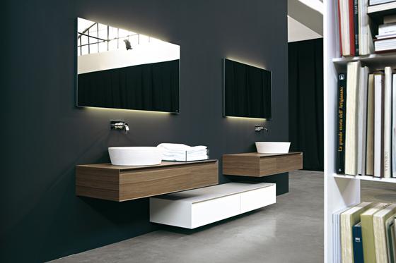 Panta Rei Collection de antoniolupi | Armoires de salle de bains
