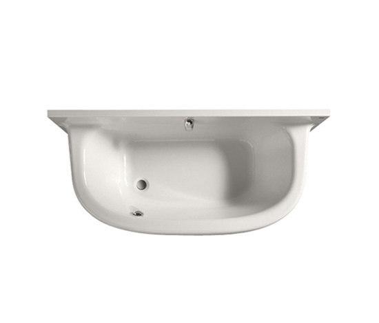 Frontalis acrylic bath de ROCA | Bañeras ovaladas