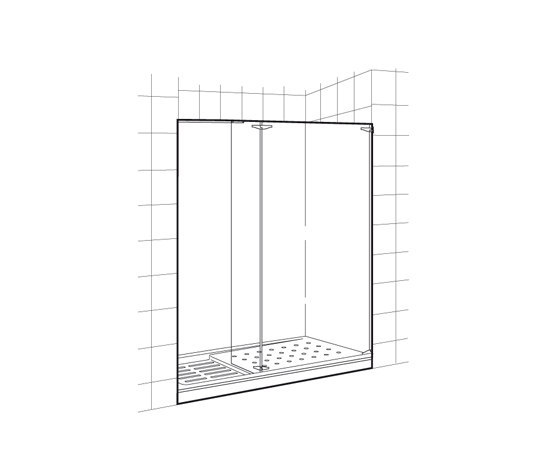 Axis Walk-In by ROCA | Shower screens